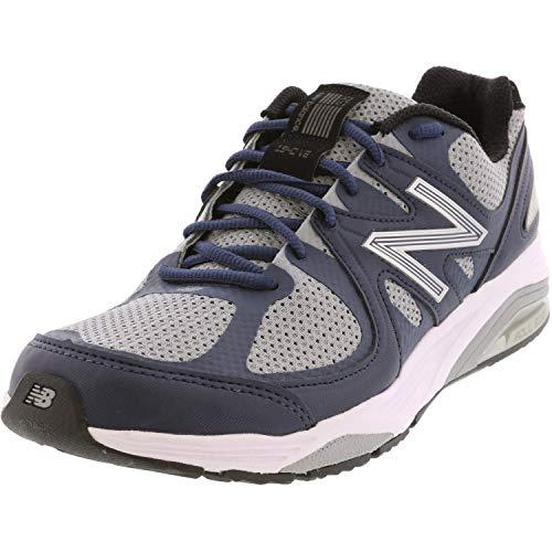 New Balance Men's Made 1540 V2 Running Shoe, Grey/Navy, 9.5 6E US