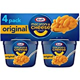 Kraft Easy Mac Original Flavor Macaroni and Cheese (Microwavable Cups), 2.05 Ounce (Pack of 24)