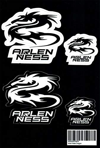 Arlen Ness Dragon Aufkleber Set