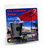 Daystar, Umbrella Wedge, Black, fits most patio umbrella shafts, designed to reduce moving and hold your umbrella in place, PA20255BK, Made in America