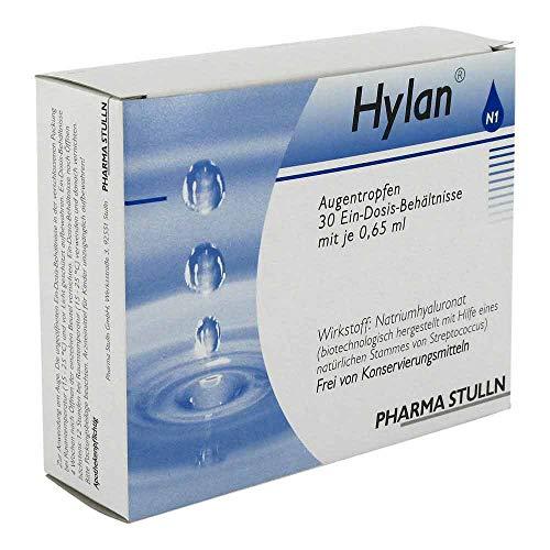 HYLAN 0,65 ml Augentropfen 30 St