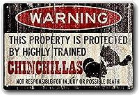 面白いシマリス警告ヴィンテージメタルブリキサイン男性洞窟男性女性、バーの壁の装飾、トイレ、レストラン、カフェパブ、12x8インチ