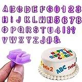 Fondant Letter Cutters, Alphabet Cutters,...