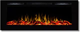 Regal Flame Fusion 50Ó Log Built-in Ventless Recessed Wall Mounted Electric Fireplace Better Than Wood Fireplaces, Gas Logs, Inserts, Log Sets, Gas, Space Heaters, Propane