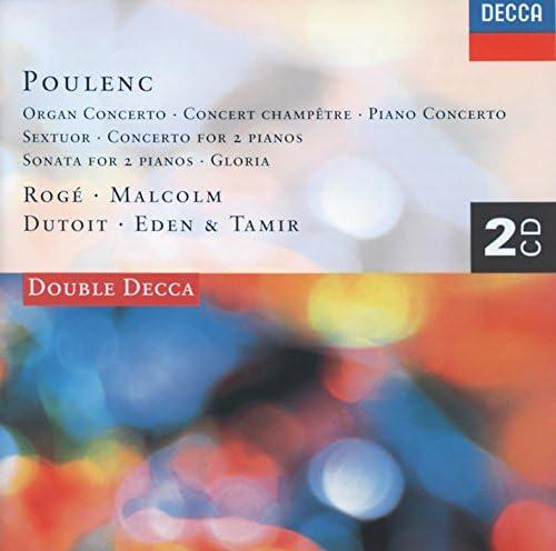 Pascal Rogé, George Malcolm, Philharmonia Orchestra, Charles Dutoit & Francis Poulenc