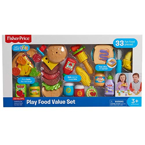 Fisher-Price Children's Play Food Set - 33 Pieces