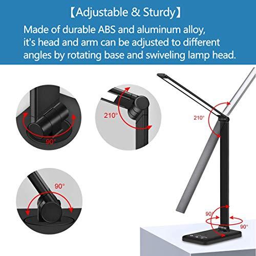 DIWUJI Lámparas de escritorio