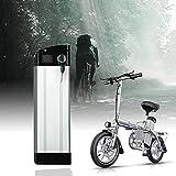 YHWL Bateria Bicicleta Electrica, Batería de E-Bike, 48V Batería de Litio con Placa de Protección BMS con Cargador, Adecuado para Motor 200W 250W 350W 500W,A,12AH