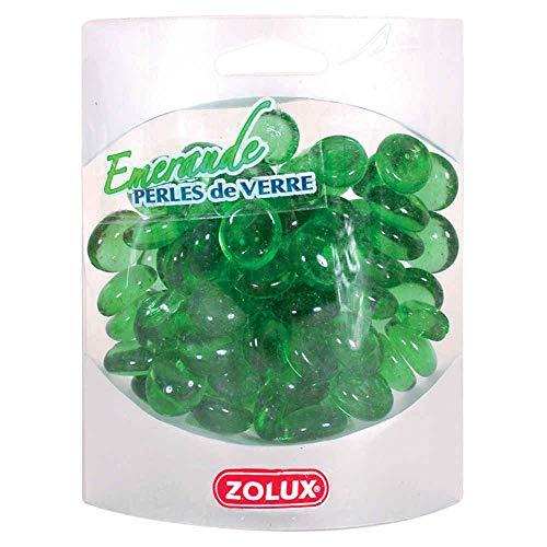 Zolux Perles de Verre Emeraude pour Aquarium