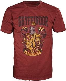 Harry Potter Gryffindor Mens Red T-Shirt