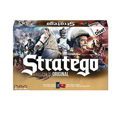 Jumbo Stratego Original Spielbrett und Strategiespiel für Familienspiel, ab 8 Jahren, 2 Spieler