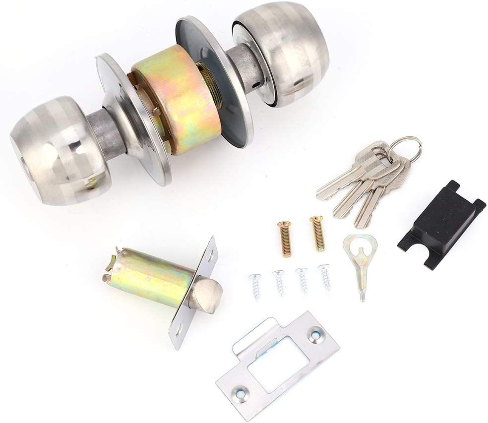 Door Lock with Stainless Milwaukee Manufacturer direct delivery Mall Cylinder Steel Mater Copper