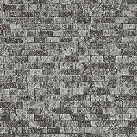 インテリロ フリース壁紙 (ブラック・グレー)幅53cm×長さ10mINTERIRO erismann Brix unlimited(ブリックスアンリミテッド) BR6941-15SET