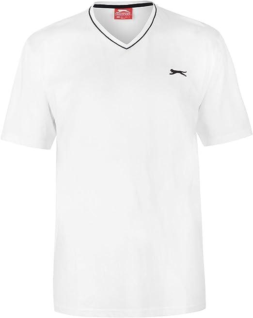 Slazenger Banger Logo Sweatshirt Mens T Shirt Navy Top Long Sleeve Tee