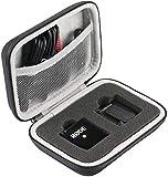 Khanka Duro EVA Viaje Estuche Bolso Funda Case para Sistema de micrófono inalámbrico Compacto Rode Wireless GO(case only)