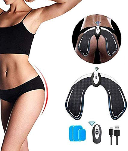 Glúteos Estimulador de Muscular, EMS Hips Electroestimulador Muscular Profesional, Estimulador Muscular Ejercitar Gluteos Hombre Mujer Aparato