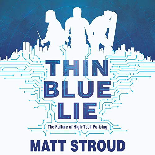 Thin Blue Lie audiobook cover art