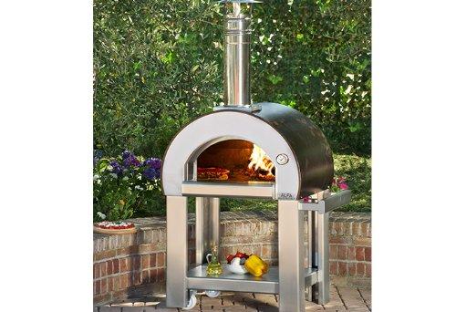 AlfaPizza, forno 5 minuti, forno a legna da esterni per pizza