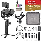 2019 DJI Ronin SC Pro Combo 3-Axis Gimbal Stabilizer for Mirrorless Cameras, Comes Focus Wheel, Focus Motor, Tripod, Phone Holder, and DJI Carrying Case, Up to 4.4lb Payload, 1 Year Limited Warranty