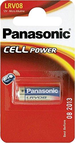 Panasonic LRV08 Batterie (12 V, für kabellosen Alarm/Türklingel, auch bekannt als A23 / 23A / MN21 / MS21 / 23AE / L1028 / 8LR932 / 8LR23 / VR22 / 8F10R), 2 Stück