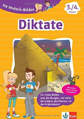Klett Lernhilfe: Die Deutsch-Helden Diktate 3./4. Klasse Grundschule (mit Stickern)
