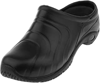 e1dfc6ba non-brand Baoblaze 1 Par Zueco de Trabajo Zapatos Planos Antideslizante  Transpirable Mocasines de Enfermera