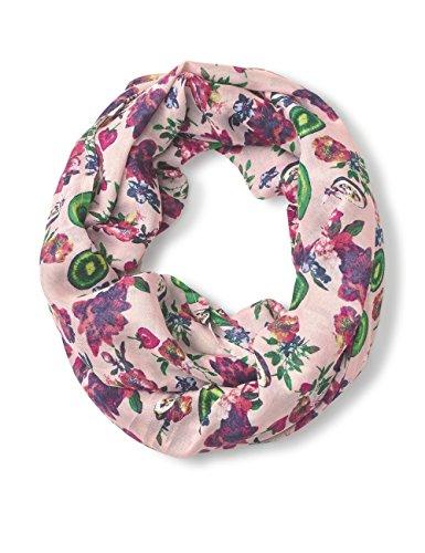 CECIL Damen Schal 570604, Mehrfarbig (Soft Blossom 31216), One Size (Herstellergröße: A)