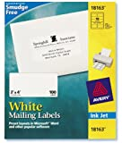 Avery 18163 18163 White Mailing Labels 10 Sheets