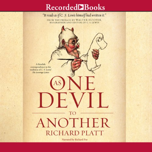 As One Devil to Another audiobook cover art