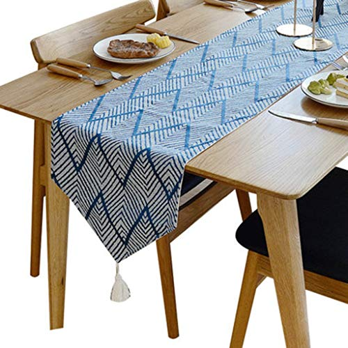Tafelloper Geometrische Streeppatroon tabel Decoraties for bruiloft partij of tafeldecoratie Tafelkleed-4.16 (Size : 30 * 240cm)