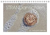 Strandansichten (Tischkalender 2022 DIN A5 quer): Im Juistrausch - ganz nah dran am Juister Strand. (Monatskalender, 14 Seiten )
