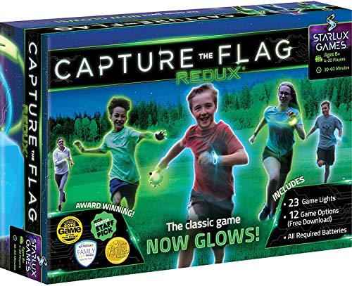 Product Image of the Capture The Flag Redux: The Original Glow-in-The-Dark Outdoor Game for Birthday...
