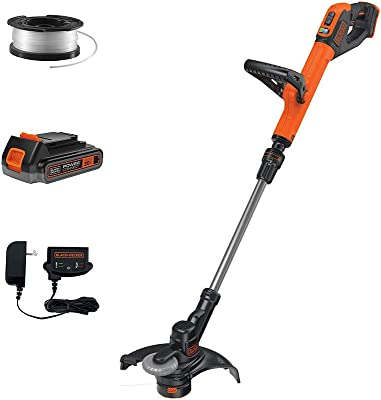 Black Decker Lst140c 885911487573 40v Max Lithium String Trimmer Amazon Ca Patio Lawn Garden