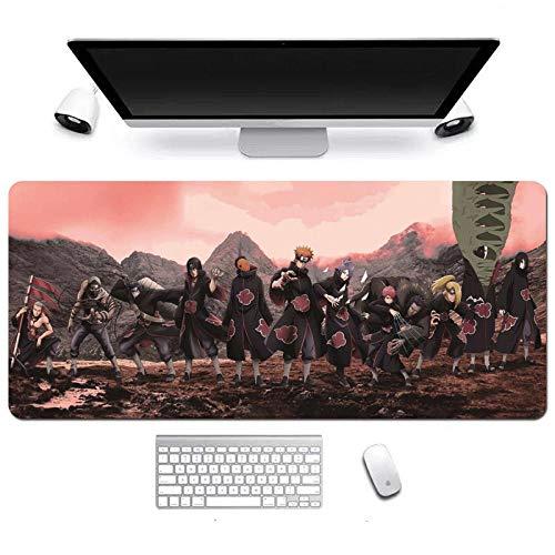Pad Large Naruto Mouse Extended Gaming Mousepad, rutschfeste wasserfeste Mausmatte auf Gummibasis-D_700x300x3mm