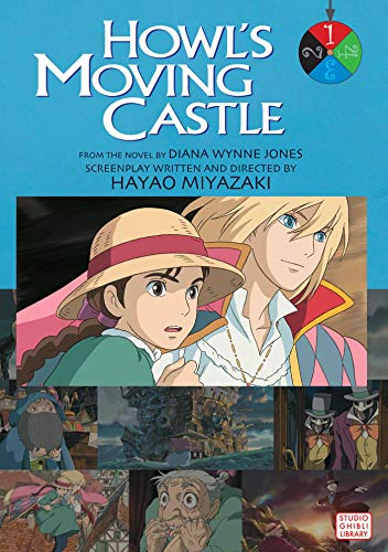 HOWLS MOVING CASTLE FILM COMIC GN VOL 01: v. 1 (Howl's Moving Castle Film Comics)