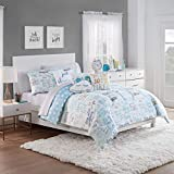 Waverly Lights Out 2pc Reversible Comforter Set, Twin, Spa