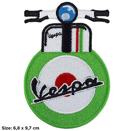 Patch, parche bordado Termoadhesivo,, Vespa Scooter 50Special Club PX,,