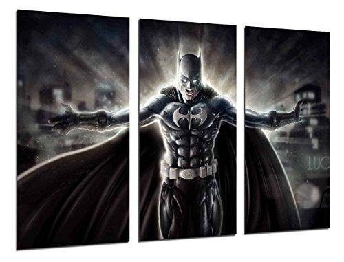 Cuadros Camara Fotográfico Superheroes Batman, Joker Tamaño total: 97 x 62 cm XXL, Multicolor