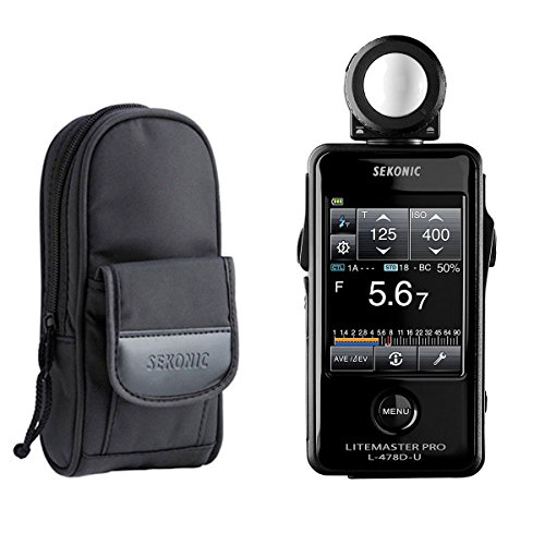 Sekonic LiteMaster Pro L-478D-U Light Meter Deluxe Case for L-478-series Meters 401-857