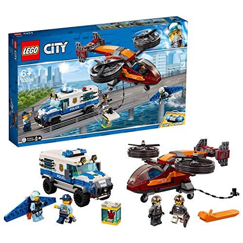 Lego 60209 City Polizei Diamantenraub, bunt