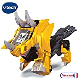 VTECH- Switch & GO Dinos-MOLOPS Voiture/Dinosaure, 80-195105, Multicolore
