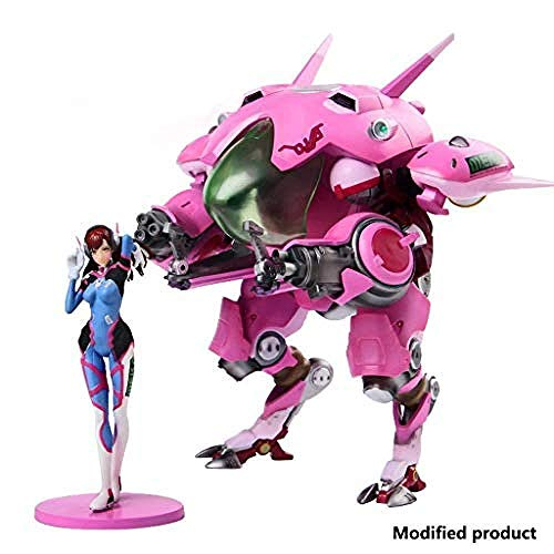 lkw-love Overwatch: D Va Toy PVC Statue - Mobile Figur für den Menschen - Höhe 9 Zoll