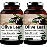 Organic Olive Leaf Extract 750mg, 180 Capsules, Active Polyphenols and...
