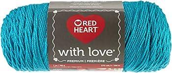 RED HEART E400-1304 With Love yarn Santorini