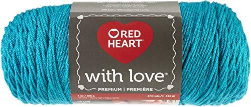RED HEART E400-1304 With Love yarn, Santorini