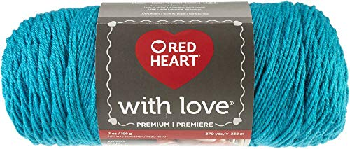 RED HEART E400-1304 With Love yarn, Santorini