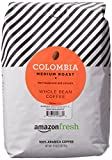 AmazonFresh Colombia Whole Bean Coffee, Medium Roast, 32 Ounce