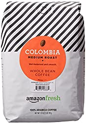 AmazonFresh Colombia Whole Bean Coffee