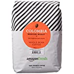 AmazonFresh Colombia Whole Bean Coffee, Medium Roast, 12 Ounce (Pack of 3) 15 Balanced, full-bodied medium roast with a smooth finish One 32-ounce bag of whole bean coffee 100% Arabica coffee grown in Colombia