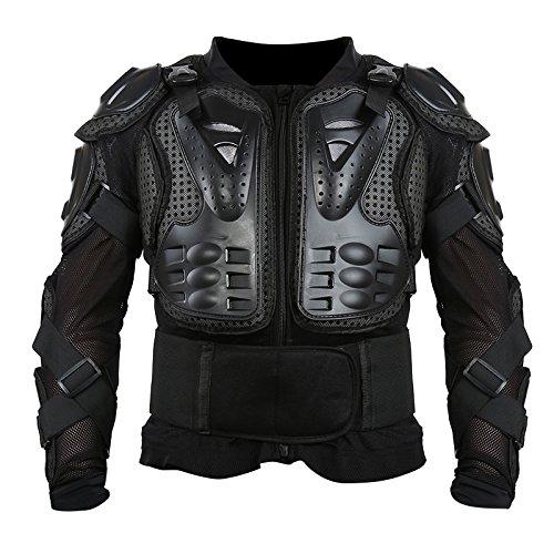 SIWEI Veste de protection intégrale pour moto, motocross, VTT et course (S-XXXL)